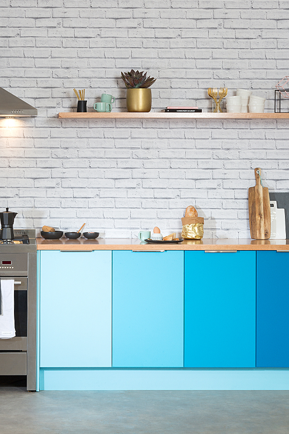 flat pack kitchens project management - choosing colours for your dream kitchen space