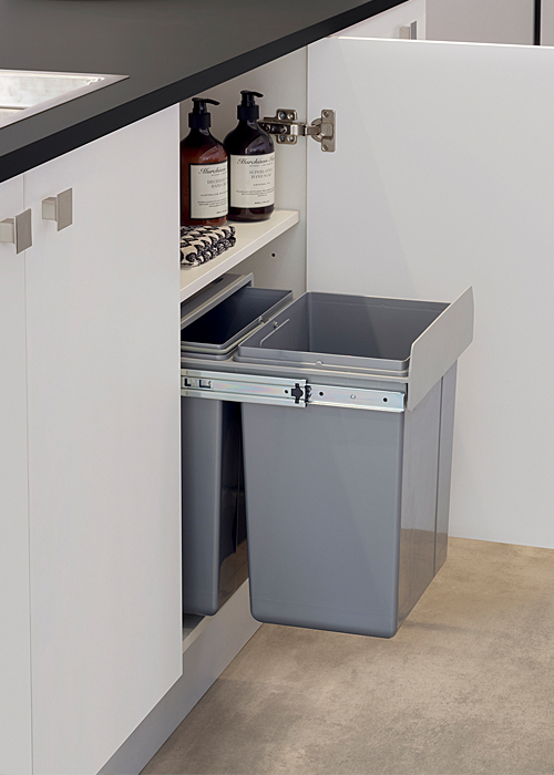 pull out kitchen bin