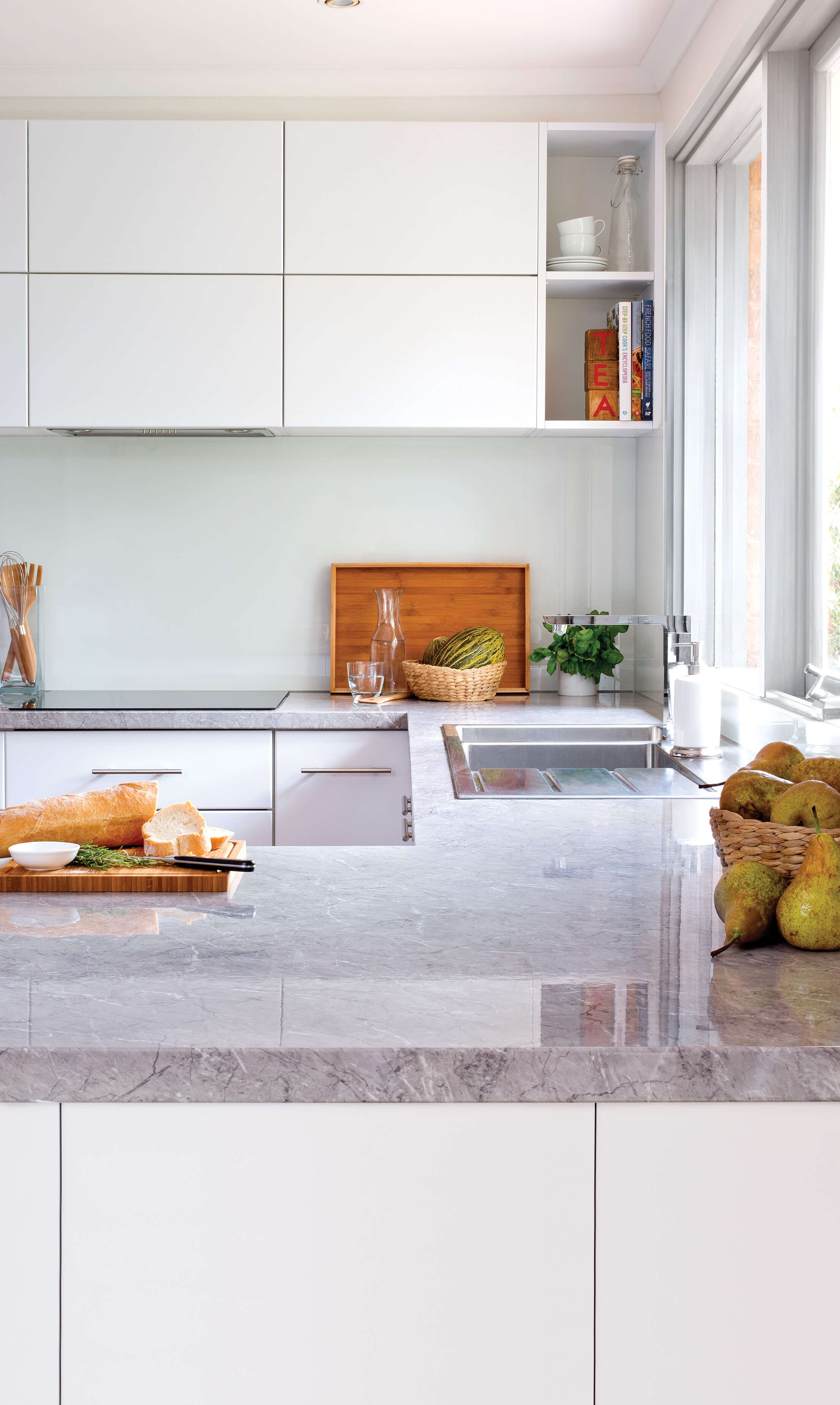 Conceal It With Colour - kitchen inspiration and ideas | kaboodle ...