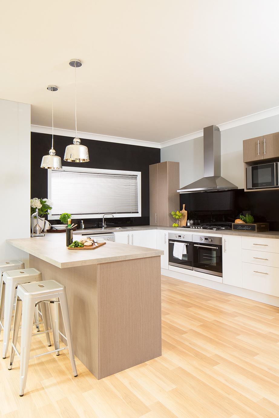 Kitchen gallery the complete package kaboodle kitchen for Complete kitchen cabinet packages