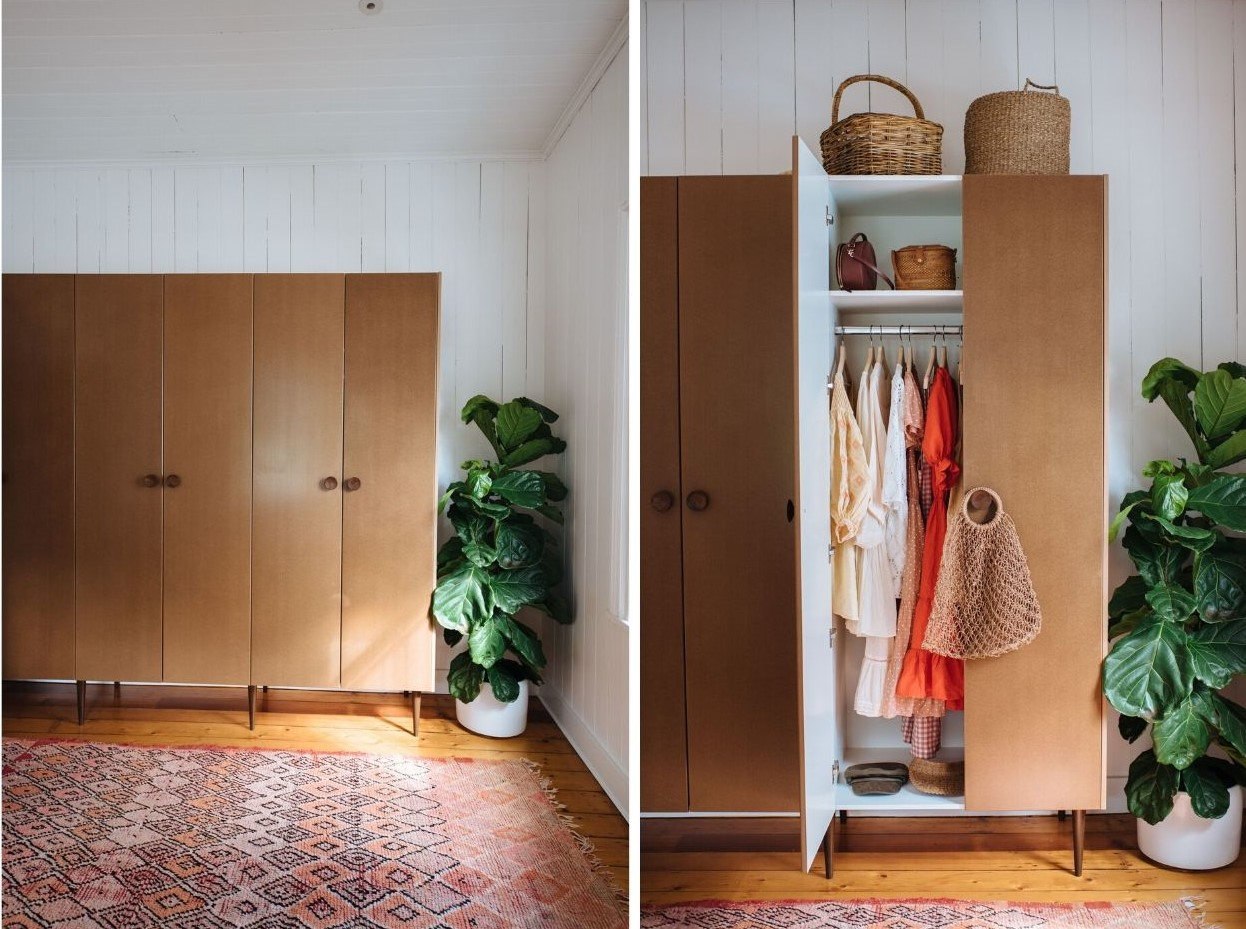 Diy Wardrobes With Our Kitchen Pantry Cabinets Kaboodle Kitchen