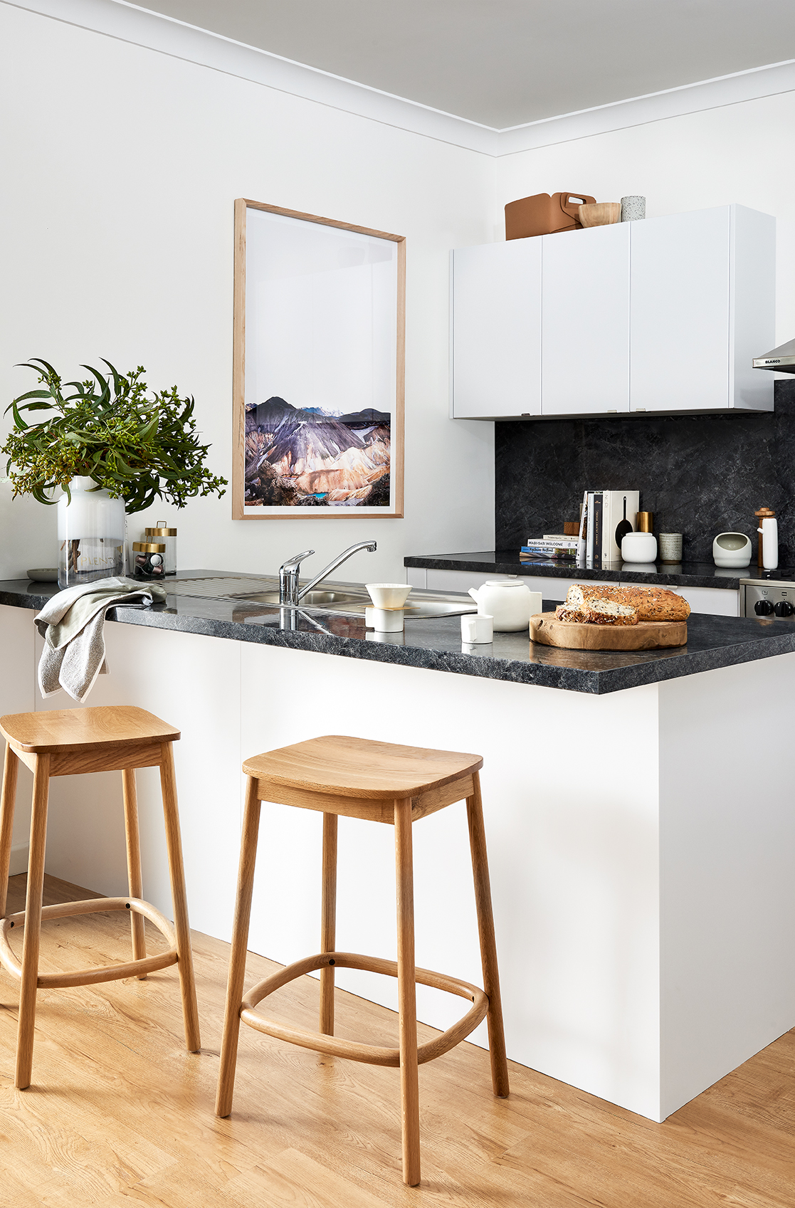 Clean And Crisp Kitchen Inspiration And Ideas Kaboodle