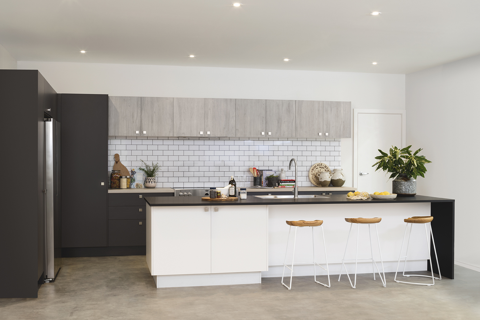 a modern showcase - kitchen inspiration and ideas | kaboodle kitchen